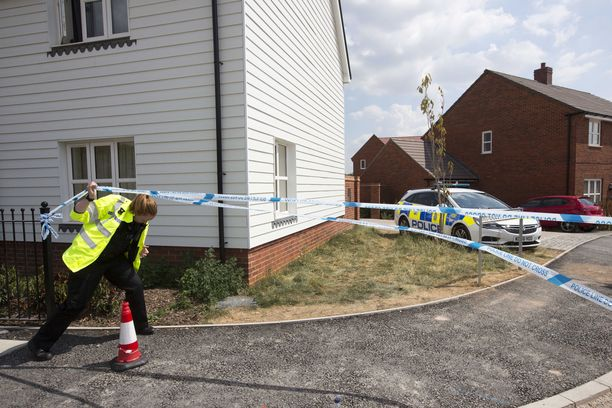 Tästä talosta Dawn Sturgess ja Charlie Rowley löydettiin tiedottomina myrkytyksen jälkeen.