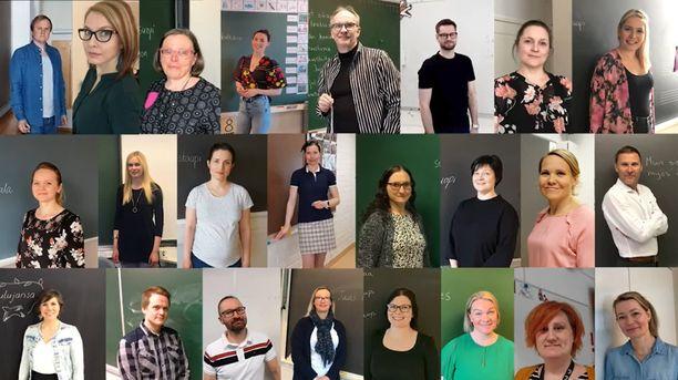 Suomalaisopettajat antoivat kasvonsa Suvivirren uudelle tulkinnalle.
