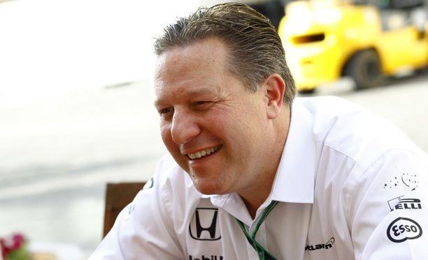 McLarenin uusi toimitusjohtaja Zak Brown kertoo olevansa kova Mika Häkkinen -fani.