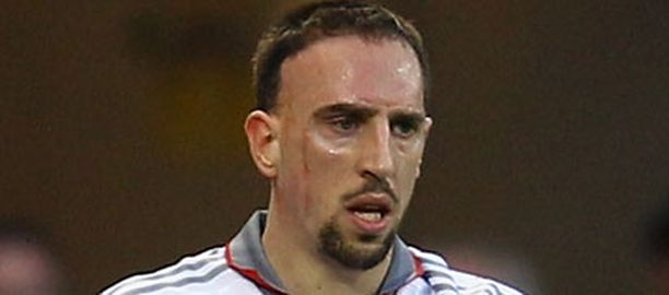 Franck Ribery on kohun keskipisteessä.