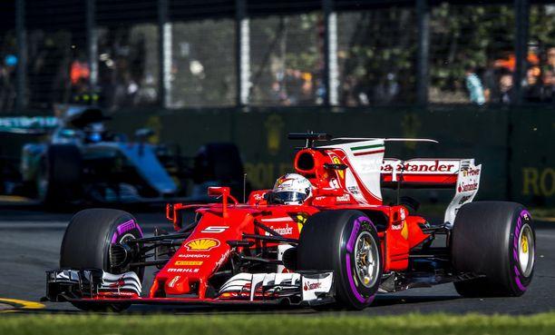 Ferrari nappasi kauden avausvoiton viikko sitten Melbournessa.