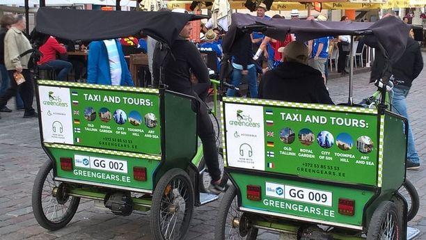 Polkupyörätaksit eli riksataksit aiheuttavat suomalaisille eniten mielipahaa. Kuvan taksi ei liity tapauksiin.