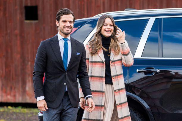 Prinssi Carl Philipillä ja Sofialla on entuudestaan poikalapset Alexander ja Gabriel.