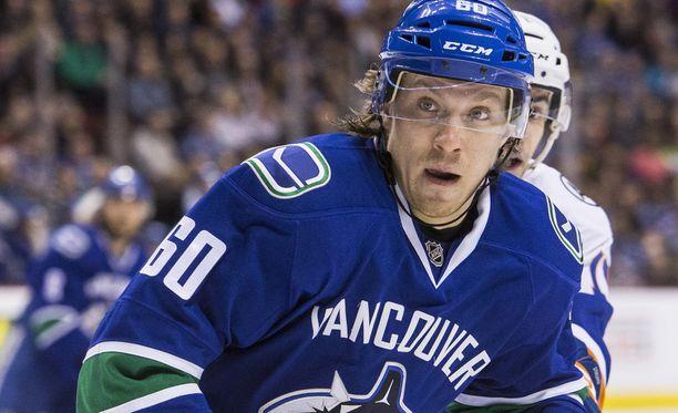 Markus Granlund kaupattiin kolme viikkoa sitten Calgarysta Vancouveriin.