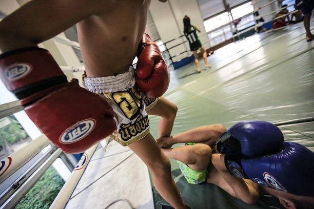 13-vuotias thaimaalaispoika kuoli thainyrkkeilyottelussa. Kuva ei liity tapaukseen.