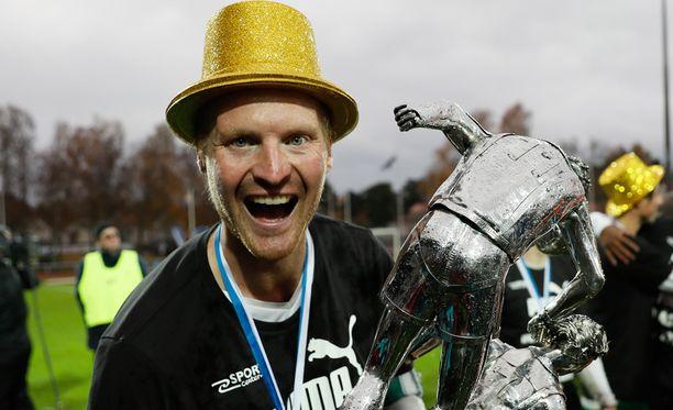 Jani Lyyski kuului IFK:n suurimpiin johtajiin tällä kaudella.