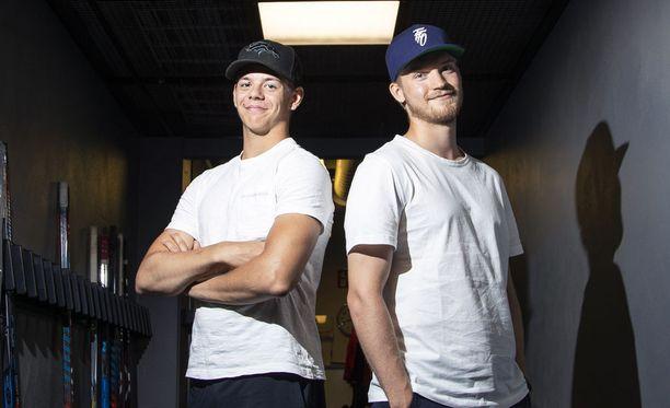 Jesperi Kotkaniemi ja Joel Armia saattavat pelata ensi kaudella samassa ketjussa.
