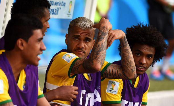 Dani Alves antoi palaa pelin jälkeen sosiaalisessa mediassa.