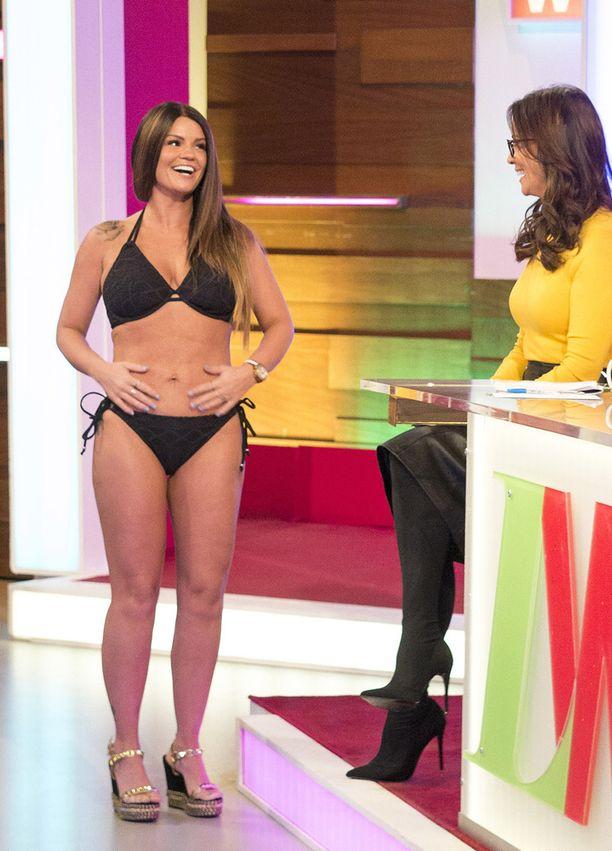 Kerry Katona sai itsensä bikinikuntoon kuudessa viikossa.