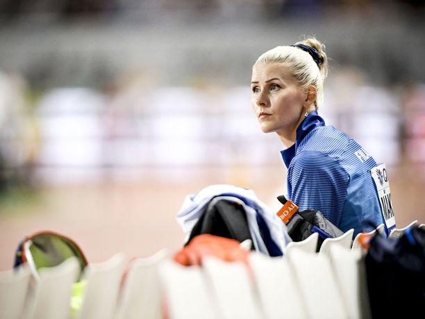 Kristiina Mäkelä on ollut vuosina 2016–19 mukana neljässä arvokisafinaalissa. Lontoon MM-kisoissa 2017 hän karsiutui finaalista, mutta teki karsinnassa kauden parhaan tuloksensa.
