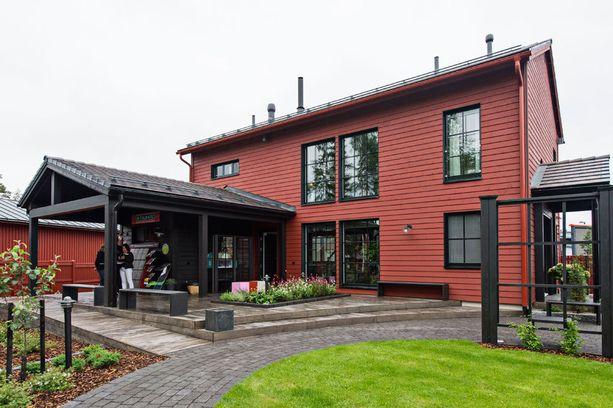 Talo Pohjanmaa on moderni perinnetalo.