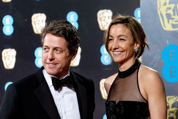 Hugh Grantilla on Anna Ebersteinin kanssa kolme lasta.
