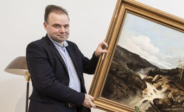 Dan von Koskull toimii Stockholms Auktionsverk -huutokauppatalon vanhempi design-asiantuntija.