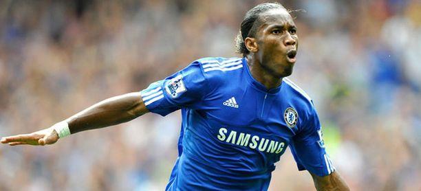 Didier Drogba oli Chelsean sankari.