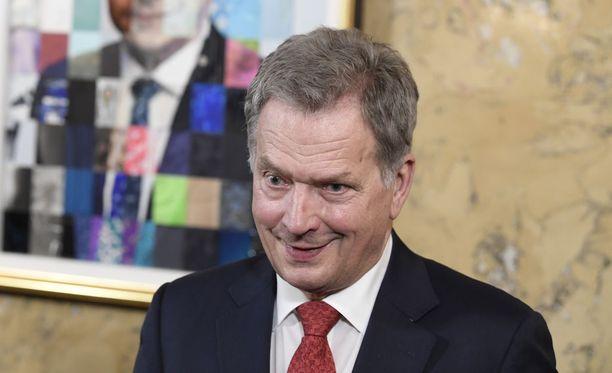 Presidentti Sauli Niinistö oli mukana Yle Puheen MM-kisojen ennakkolähetyksessä.