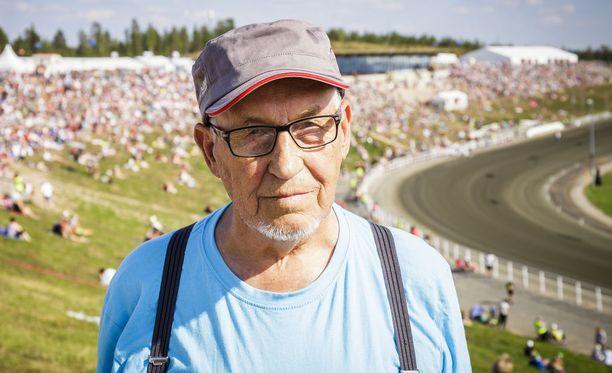 Freddy Liljeros on käynyt 57 vuotta putkeen Kuninkuusraveissa.
