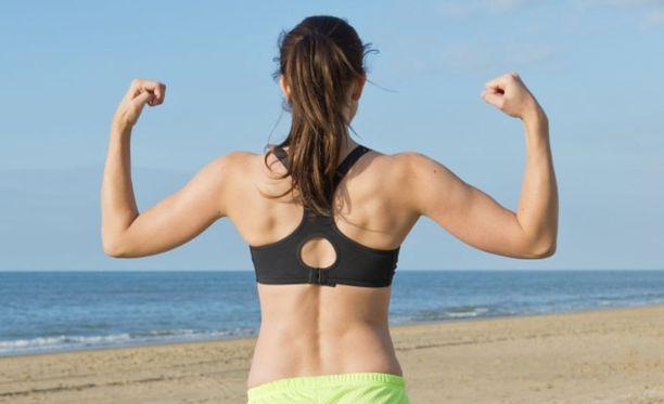 Olisiko näistä lihaksista pyörittämään raskaita jauhinkiviä?