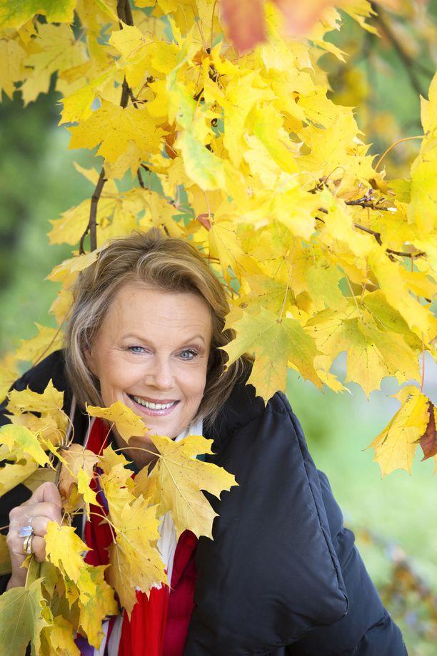 Arja Saijonmaa pyhitti viime kevään levolle alkutalven hurjan sairastamisen jälkeen.