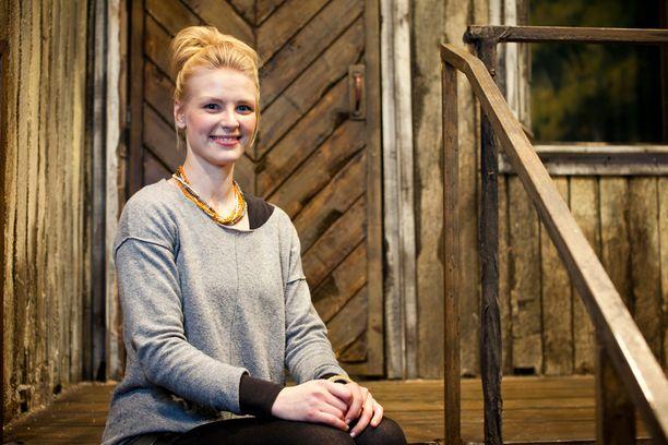 Maija Koivisto on tähdittänyt taannoin muun muassa Helsingin Kaupunginteatterin Peppi Pitkätossu -näytelmää.