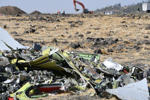 Ethiopia Airlinesin Boeing 737 Max 8 putosi 13. maaliskuuta pian nousun jälkeen.