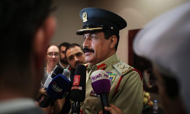 Dubain poliisipäällikkö kertoi hotellipalon rikostutkinnan päättymisestä keskiviikkona.