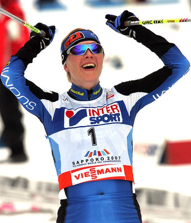 Virpi Kuitunen oli hankkimassa Suomelle kolmea kultaa ja yhtä pronssia.