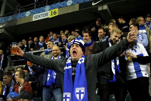 Tallinnassa pelattu Viro-Suomi oli käytännössä Suomen kotiottelu.