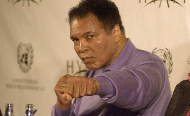 Muhammad Ali teki suuren vaikutuksen Michael Watsoniin.