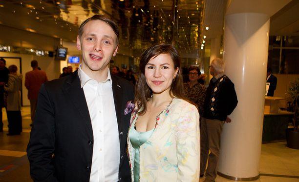 Reino ja Maria Nordin on tuttu pari julkisuudesta.