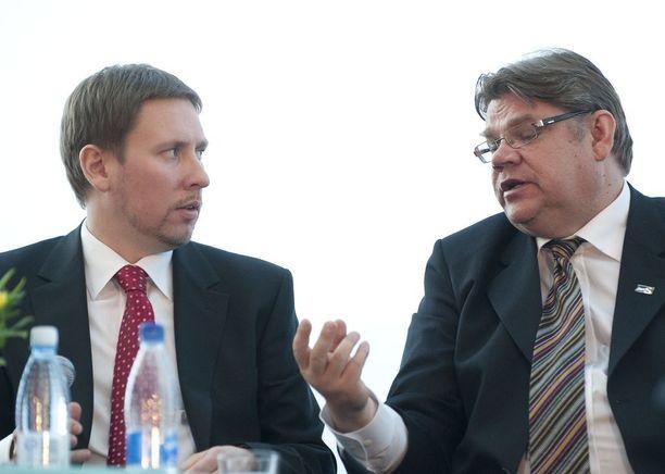 Timo Soini ja Paavo Arhinmäki ottivat yhteen myös vuoden 2011 eduskuntavaaleissa.