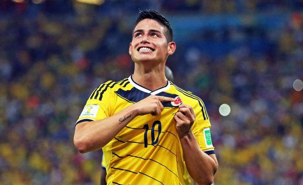 James Rodriguez on kolumbialainen hiomaton timantti, joka odottaa poimijaansa.