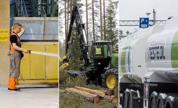 Muun muassa Stora Enso, Neste ja UPM käyttävät aktiivisesti hyödyksi eri maiden verohuojennuksia.