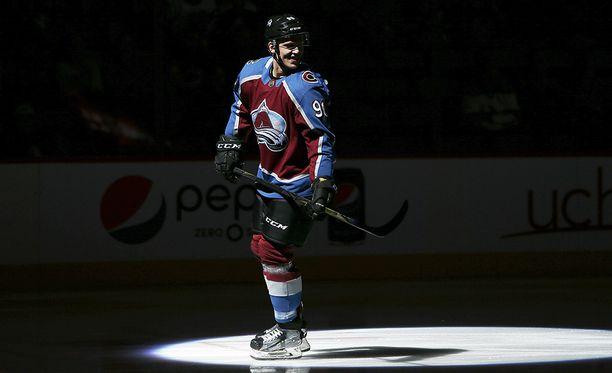Colorado Avalanchen Mikko Rantanen on matkalla NHL:n supertähdeksi.