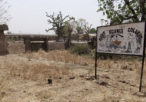 Myös kuvan Government Science Collegesta kaapattiin helmikuussa oppilaita Nigeriassa.