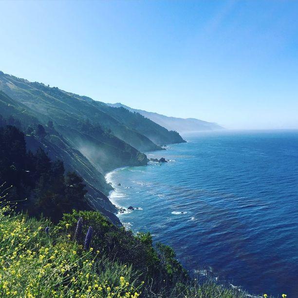 Kalifornian Big Sur Pirita Tiusasen kuvaamana.