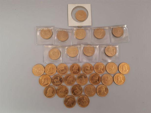Suurin osa kolikoista on painettu 1970-luvulla. Huutokauppa arvioi kolikkolöydön alustavasti yli 40 000 euron arvoiseksi.