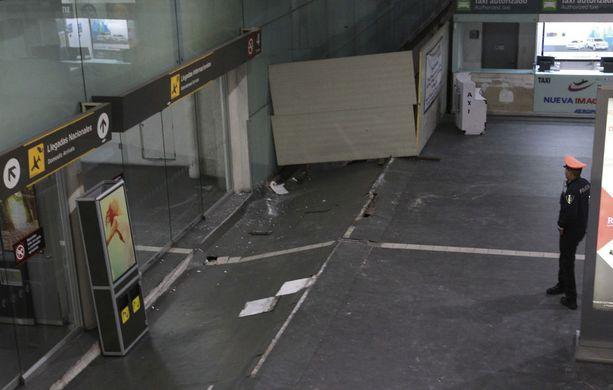 Maanjäristys tuntui jopa Meksikon pääkaupungin lentokentällä.