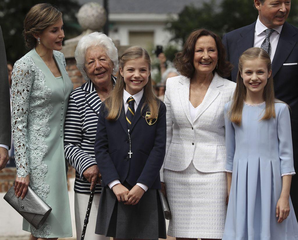 Espanjan kuningatar Letizian suuri suru: isoäiti Menchu, 93, kuoli – ammatinvalinta yhdisti