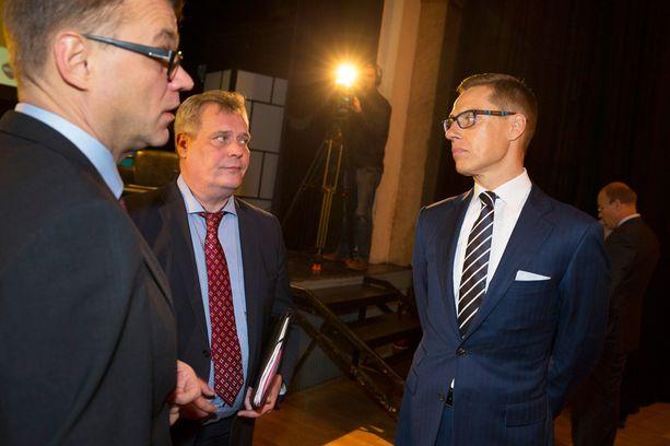Juha Sipilä (kesk), Antti Rinne (sd) ja Alexander Stubb ottavat kantaa perintöveroon Iltalehden vaalikoneessa.