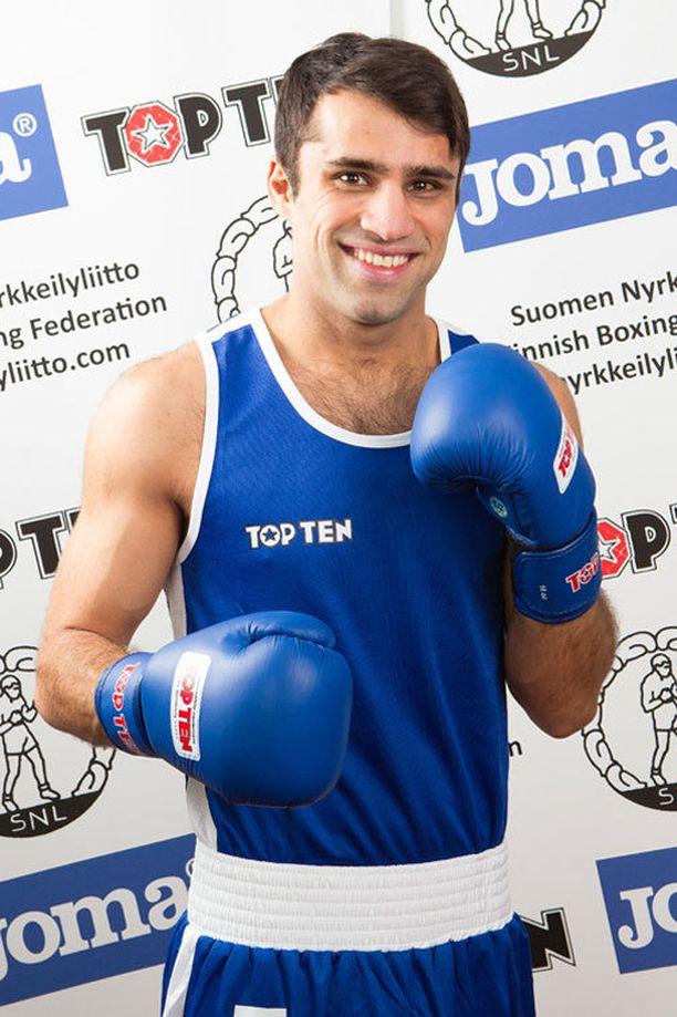 Amin Nuri osallistuu nyrkkeilyn GeeBee-turnaukseen.