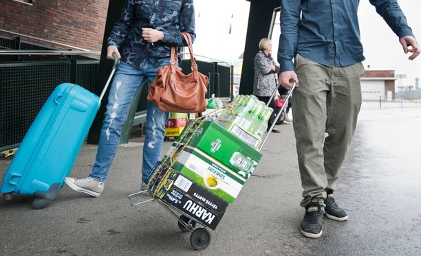 Miten käy alkoholin matkustajatuonnin?