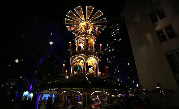 Joulumarkkinat Berliinissä.