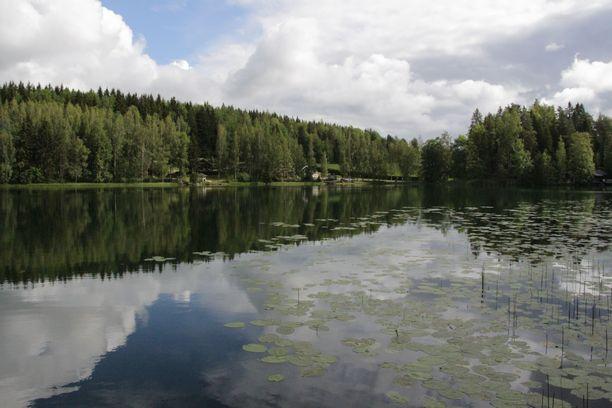 Kylmä järvi vuodelta