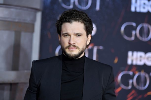 Kit Harington Game of Thronesin ensi-illassa New Yorkissa.