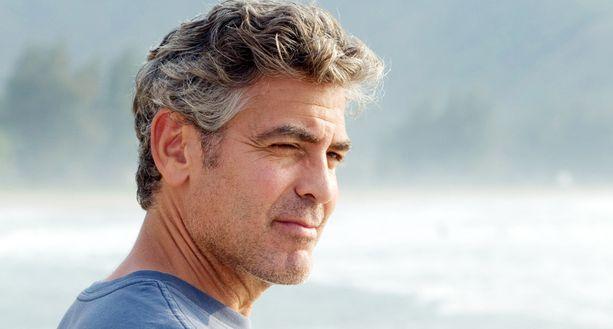 George Clooney elokuvassa Descendants-elokuvan pääosassa vuonna 2011.