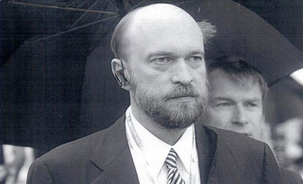 Sergei Pugachevistä Interpolin verkkosivuilla julkaistu kuva.