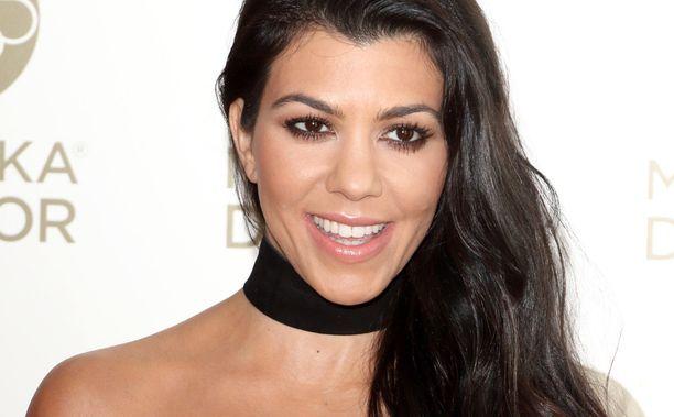 Kourtney Kardashianin perheessä on koiranpentu.