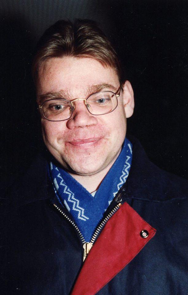 SMP:n puoluesihteeri vuonna 1994.