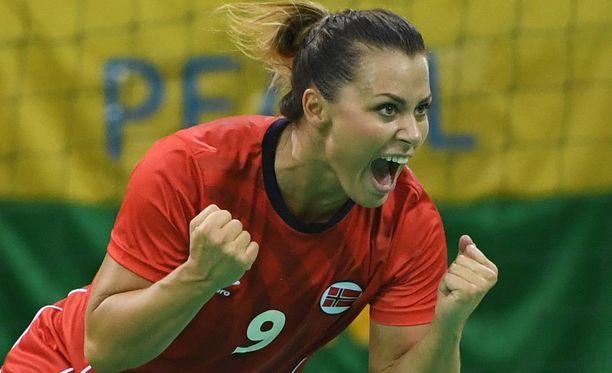 Nora Mørk on yksi Norjan käsipallomaajoukkueen kirkkaimmista tähdistä.