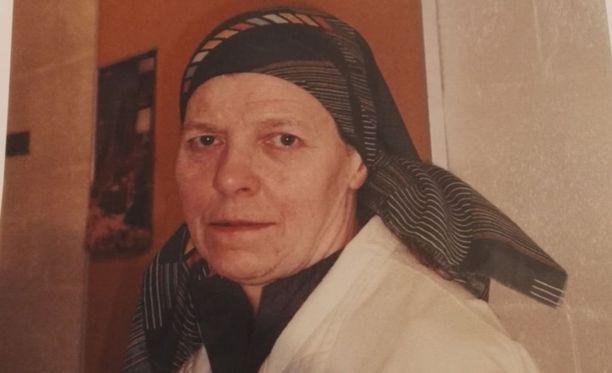 Irmeli Vuolle katosi 11. heinäkuuta 2017 Heinävedellä.
